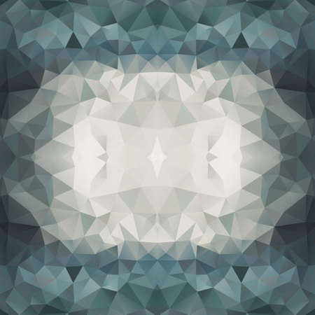 diamond clip art: Abstract Multicolored Triangle Background Illustration
