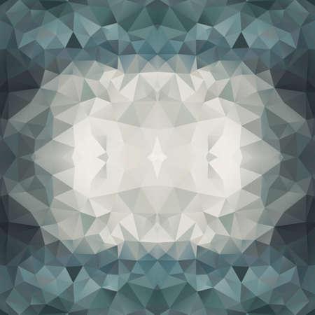 Abstrakten bunten Hintergrund Triangle