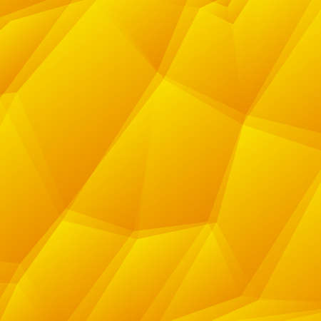 Abstract Yellow Triangle Geometrical Background, Vector Illustration EPS10, Contains Transparent Objects Vector