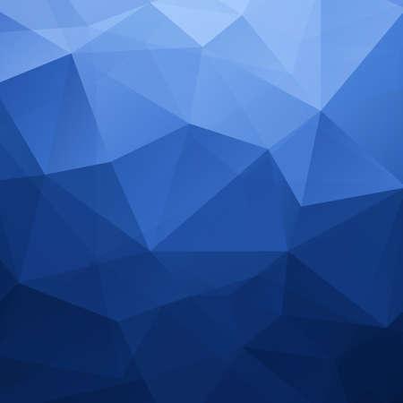 Abstracte Blauwe Driehoek Geometrische Achtergrond Stock Illustratie