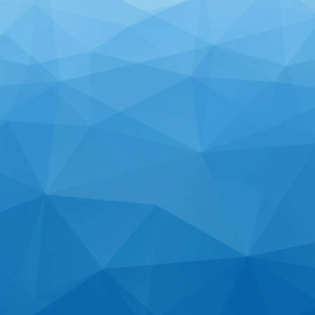 blue backgrounds: Abstract Blue Triangle Geometrical Background
