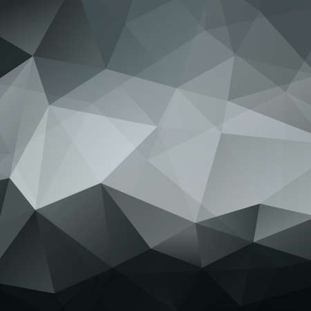 Abstract Black Triangle Geometrical Background