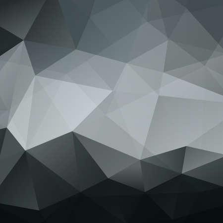Abstracte Zwarte Driehoek Geometrische Achtergrond Stock Illustratie