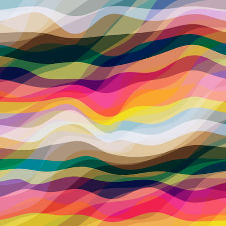 Abstract Design Creativity Background of Colorful Waves, Vector Illustration EPS10 Illustration