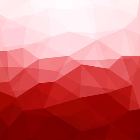 Abstract Red Triangle Geometrical Background, Vector Illustration EPS10, Contains Transparent Objects