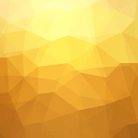Abstract Yellow Triangle Geometrical Background, Gold Pattern. Vector Illustration EPS10, Contains Transparent Objects Illustration