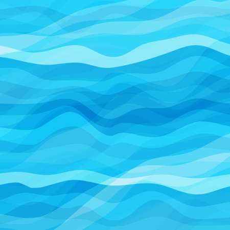 eps10: Abstract Design Creativity Background of Blue Waves, Vector Illustration EPS10