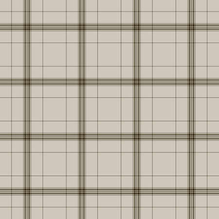 Background of Seamless Plaid Pattern, Abstract Tartan Scottish Fabric, Vector Illustration Vector