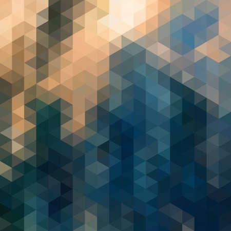 Abstracte Driehoek Geometrische veelkleurige achtergrond, Vector illustratie