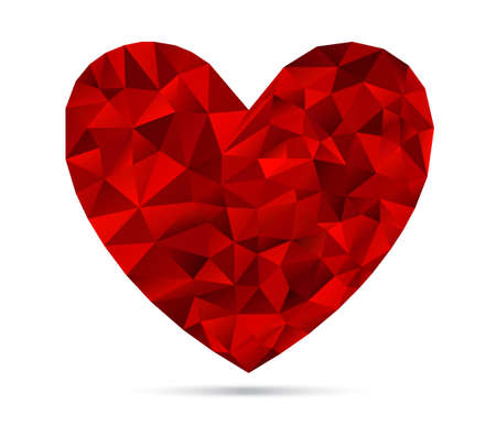 diamond shape: Textured Heart Sign, Heart Shape Vector Diamond