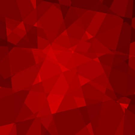 background kaleidoscope: Abstract Triangle Geometrical Red Background Illustration