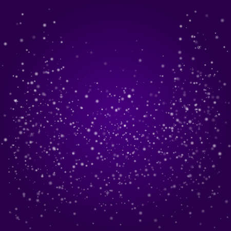 Abstract Holiday Purple with Bokeh, Illustration  Vector