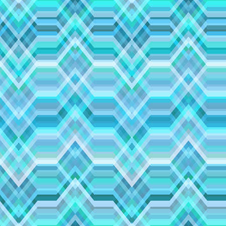 striped band: Color Abstract Retro Vector Striped Background, Fashion Zigzag Seamless Pattern of Blue Stripes