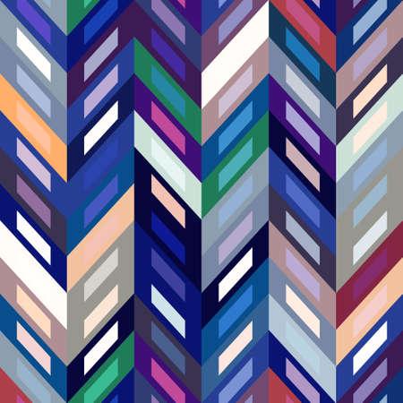 Color Abstract Retro Vector Striped Background Vector