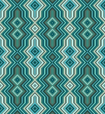 striped band: Colored Abstract Retro Striped Background, Fashion Seamless Zigzag Pattern of Multicolored Stripes