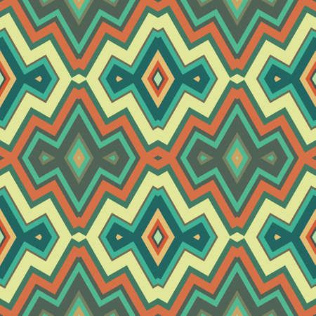 herringbone background: Colored Abstract Retro Striped Background, Fashion Seamless Zigzag Pattern of Multicolored Stripes