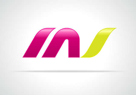 Combination of Letters M and S. , Creative Concept Icon