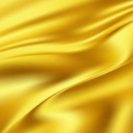 tissu or: Gold Silk Fabric for Drapery Abstract Background