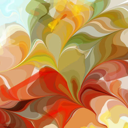 painted image: Multicolored Original Watercolor Painting Background, Vectors EPS10