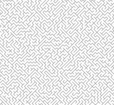Vector seamless labyrinth maze