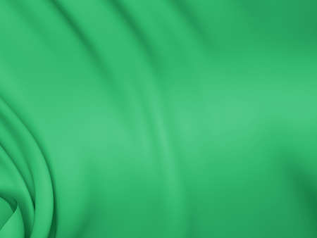 Abstract Texture, Green Silk Reklamní fotografie
