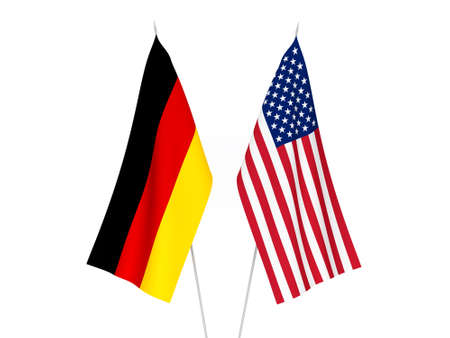 America and Germany flags