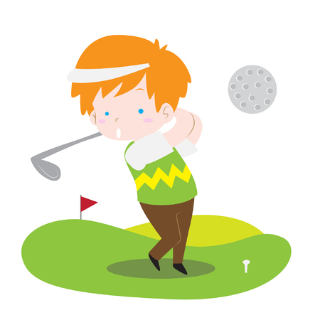 Mini Golf Cliparts Stock Vector And Royalty Free Mini Golf Illustrations