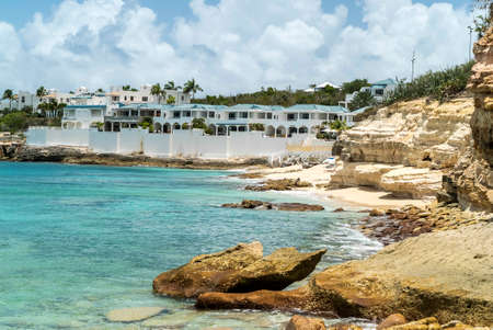 The natural caves at cupecoy beach on the beautiful island of St.Maarten/St.Martin