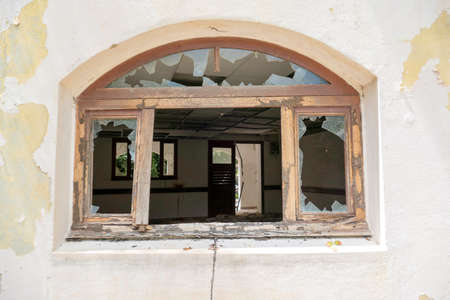 damage windows due to hurricane and natural damages