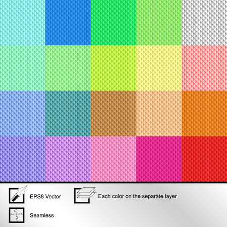 fallow: Set of twenty colorful  seamless textures for your design