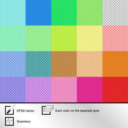 jachere: Ensemble de vingt color� textures transparent pour votre conception