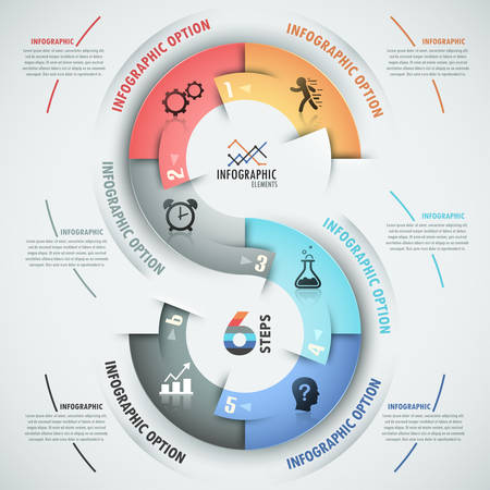 Modern infographics options banner Imagens - 30684072