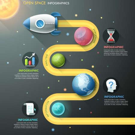 rocket: Modern Infographic Template