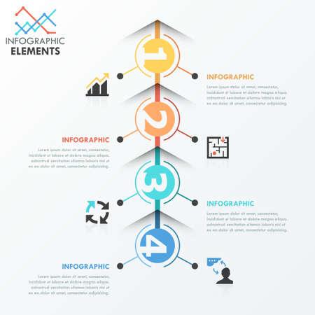 solution: Modern infographics options banner