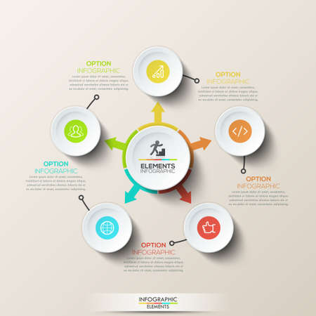 html 5: Creative infographic design template