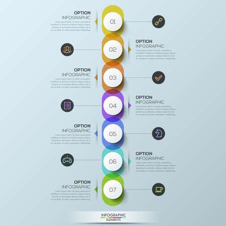 Infografisch ontwerp sjabloon