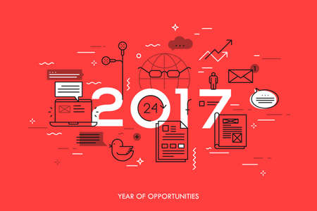 Hot trends and predictions in global communication, social media, internet blogs, online instant messengers