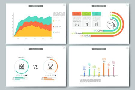 Minimal infographic brochure template pages with diagram graph minimal infographic brochure template pages with comparison diagram line graph bar progress and saigontimesfo