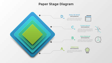Modern InfographicTemplate Ilustracja