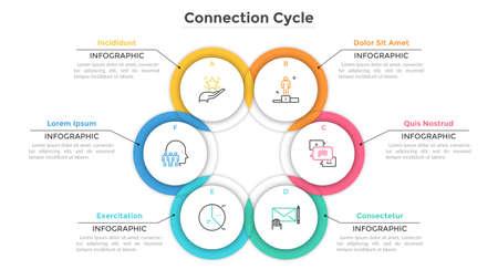 Modern Creative Inforaphic Template Illusztráció