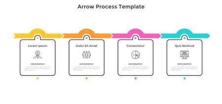 Modern Infographic Vector Template Vector Illustration