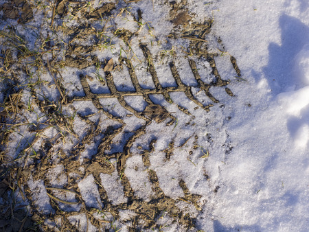 icily: snow and ice and wintry textures and different wintry backgrounds Stock Photo