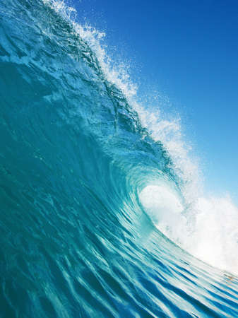 Blue Ocean Wave Stock Photo - 11600004