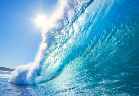 Blue Ocean Wave photo