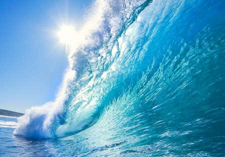 sea sports: Blue Ocean Wave