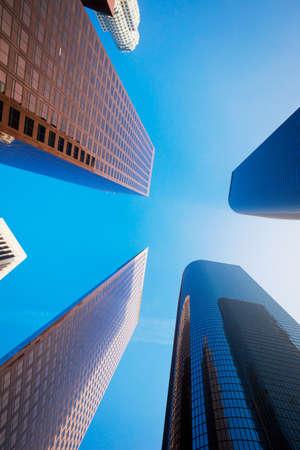 Sky Scrapers, Urban Buildings and Blue Sky