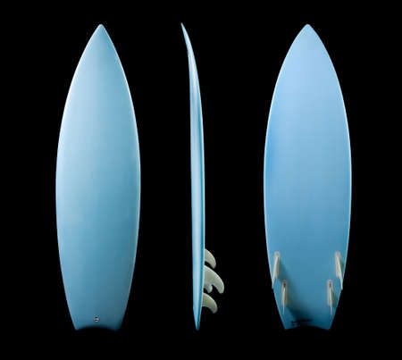 Surf Board on Black Background photo