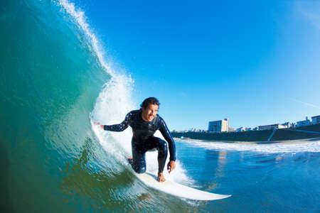 hawai: El surfista Azul Ocean Wave
