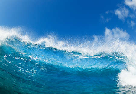 northshore: Blue Ocean Wave, View from in the Water