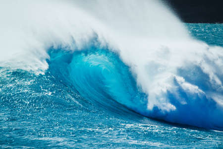 northshore: Beautiful Blue Ocean Wave